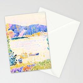 12,000pixel-500dpi - Henri Edmond Cross -Cape Negro - Digital Remastered Edition Stationery Cards