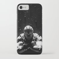 bane iPhone & iPod Cases featuring Bane by Sam Rowe Illustration