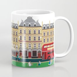 London Clapham Common in Summer Coffee Mug