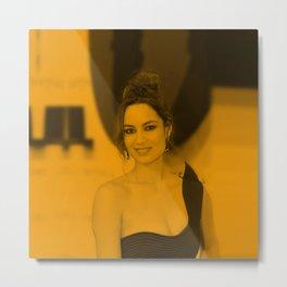 Berenice Marlohe Metal Print