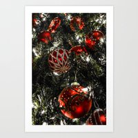 Jolly Christmas  Art Print