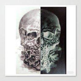 Positive/Negative Canvas Print
