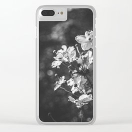 Anemone flowers Clear iPhone Case