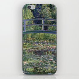 Water Lilies and the Japanese Bridge by Claude Monet iPhone Skin