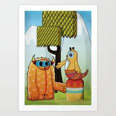 Narancita Art Print