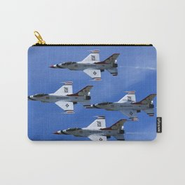 USAF Thunderbirds Diamond 4 Carry-All Pouch