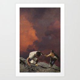 ascend Art Print