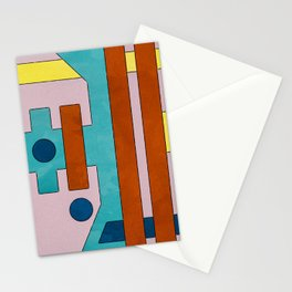 Raygun Capacitor - Abstract Composition Stationery Cards