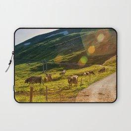Summer Mountain Pasture Laptop Sleeve