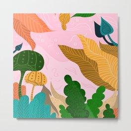 Tropical Composition Metal Print