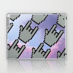 Pixel Hands, Colorful Clouds Laptop & iPad Skin