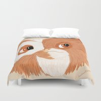 gizmo Duvet Covers featuring Gizmo by ItalianRicanArt