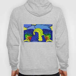 GALGALIEL the blue angel of vibrations Hoody