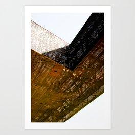 Structure 0801 Art Print