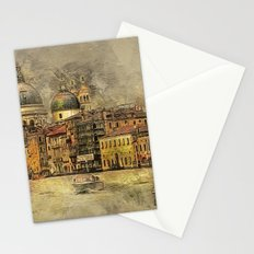 Sunset on The Grand Canal Stationery Cards