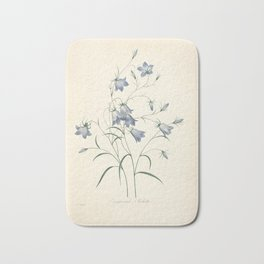Vintage Illustration Medicinal Plant No 7 Bath Mat