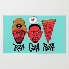 RZA, GZA, PIZZA Rug