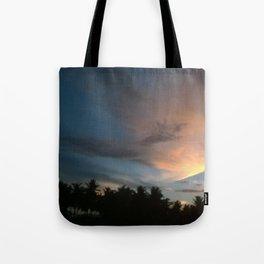 Fox In Socks - Clouds Tote Bag