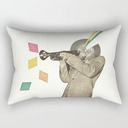 Blue Note Rectangular Pillow