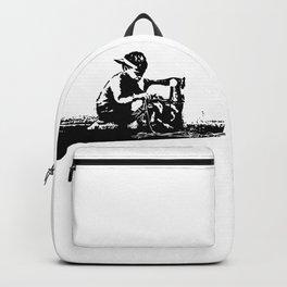 Slave Labour - Banksy Backpack