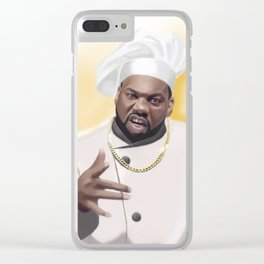 Killa Beez : The Chef Clear iPhone Case