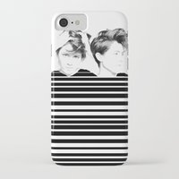 tegan and sara iPhone & iPod Cases featuring Tegan & Sara by MeMRB