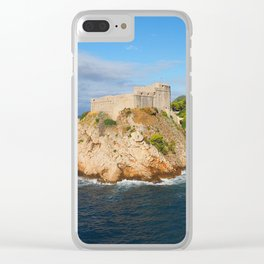 Dubrovnik Clear iPhone Case