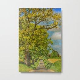 Sweetbriar Lane, Edgefield Metal Print