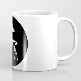 Deer Skeleton Coffee Mug