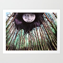 When Night Takes the Day Art Print