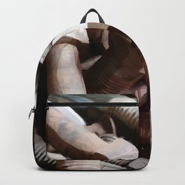 Bolt on the wall Backpack