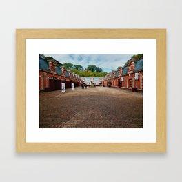 Waddesdon Manor Stables Framed Art Print