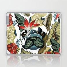 Tropical Frenchie Laptop & iPad Skin