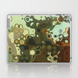 RETRO Mid Century Modern Abstract Pattern Geometric Art by Michel Keck Laptop & iPad Skin