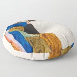 """Egon Schiele """"Moa"""" Floor Pillow"""