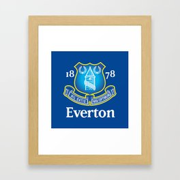 Everton F.C. Framed Art Print