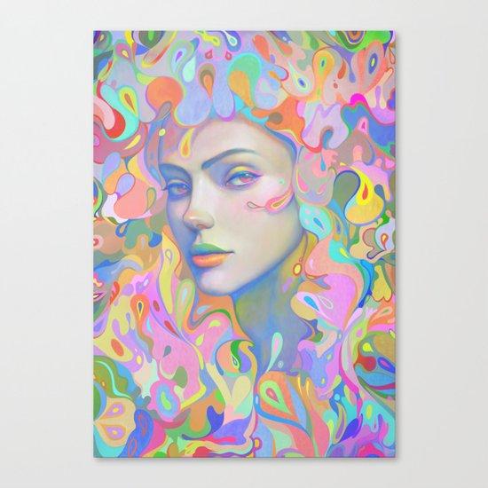 ANÉMONE Canvas Print