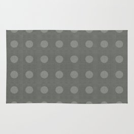 """Dots Elephant Grey"" Rug"