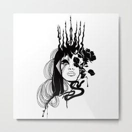 Queen of venom Metal Print