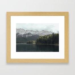 Slow days - Landscape Photography Framed Art Print