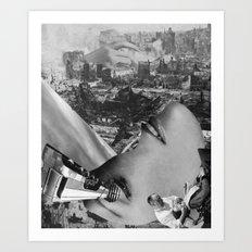 second upheaval Art Print