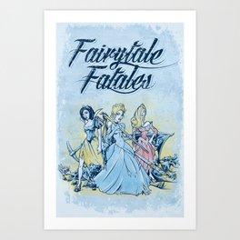 Fairytale Fatales Art Print