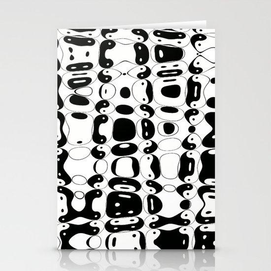 Yin Yang mix (w) Stationery Cards