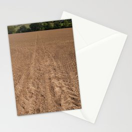 The brown vanishing point Stationery Cards