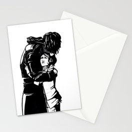 DISHONORED- Stronger When You Hold Her Stationery Cards