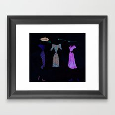 Lobotomies are so in Right Now. Framed Art Print