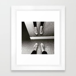Dirty Rhinestone Disco Framed Art Print