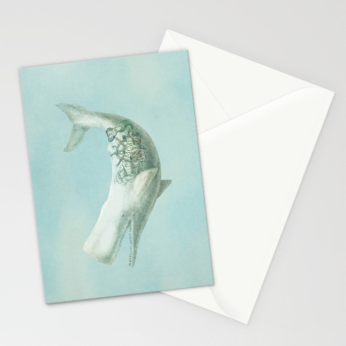 Far and Wide (Square Format) Stationery Cards