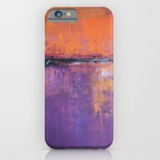 Poetic City - Urban Abstract Painting iPhone 6s Slim Case