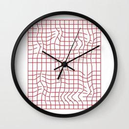 Distorsion Wall Clock